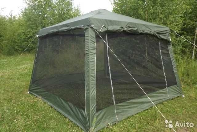 1628 Палатка шатер со стальными дугами для туризма и рыбалки