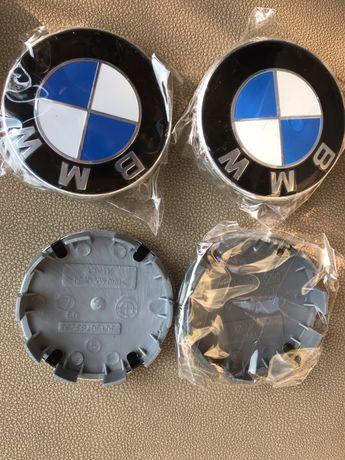 Set Capace roti jante aliaj BMW 68mm  1 3 5 7 E46 E90 E60 X1 X3 X5 X6