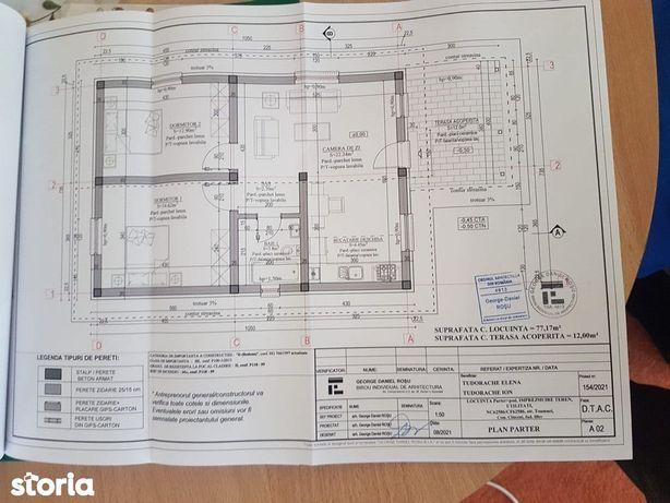 Casa Individuala 285 MP Teren | Nefinisata | Clinceni