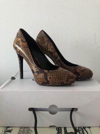 Pantofi Aldo animal print
