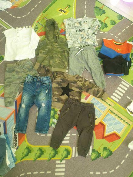 Пролетни 12-18 Zara ,Next суичър , долнища , блузи,  елек , грейка
