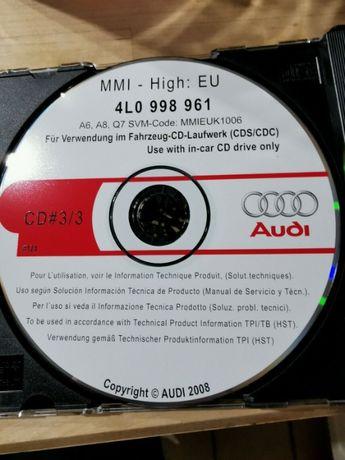 Software Update Audi MMI 2G 5570 -A4 A6 A8 Q7
