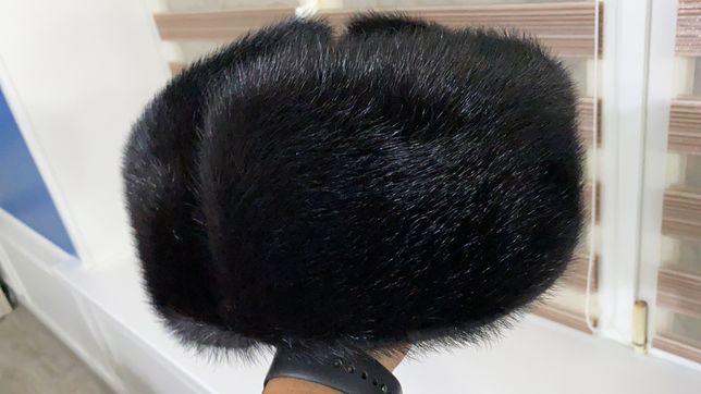 Продам Шапка норковая мужская, полностью норка - ушанка