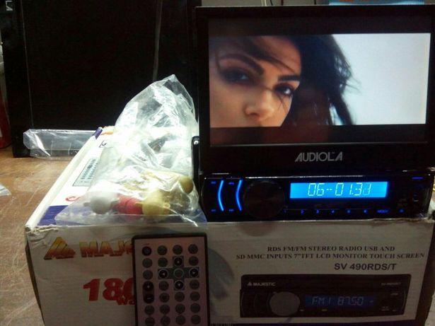 Dvd auto 1din,audiola sv890rdst, touchscreen,card,usb,garantie 2 luni