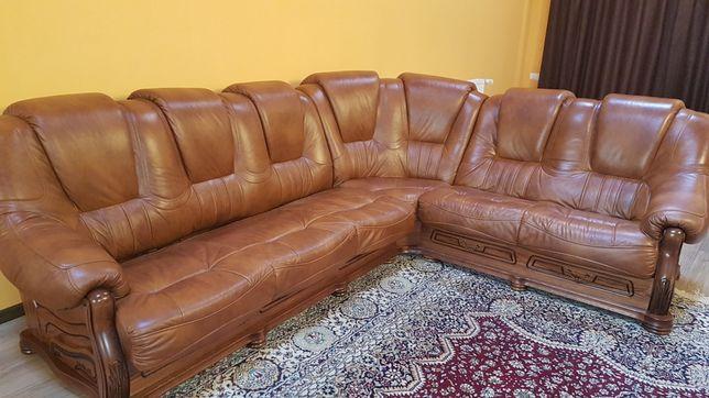 Canapea piele naturală