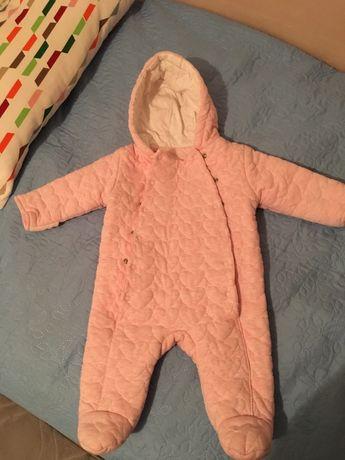 Космонавт/ ескимос за бебе момиче 3-6 месеца George