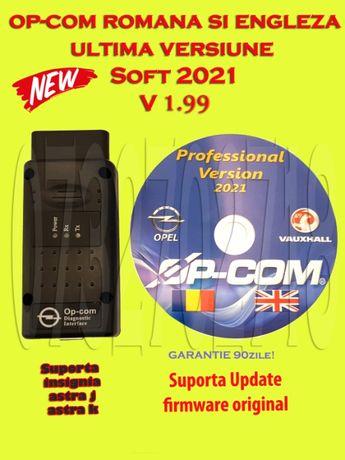 Tester Diagnoza OPEL OP-COM Software 2021 UPDATE Firmware V1.99