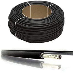 Соларен кабел 4мм2 UV защита, соларен панел фотоволтаичен колектор