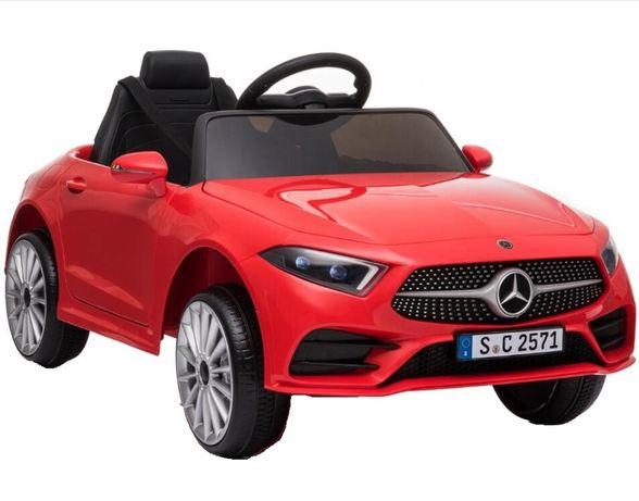 Masinuta electrica Kinderauto Mercedes CLS350 50W 12V PREMIUM #Rosu