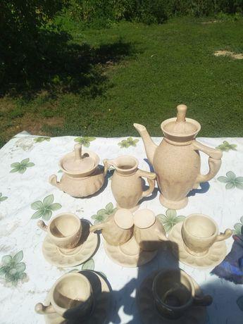 Кофейный сервиз керамика