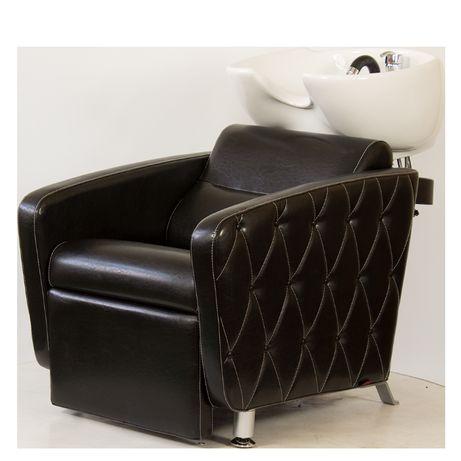 Измивна фризьорска колона Cubo Plus Negro