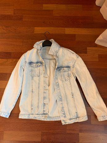 Джинсовая куртка Zara и Ветровка sisley