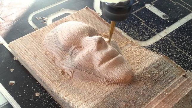 Prelucrare - frezare CNC - Lemn, MDF, etc. Printare 3D. Sculptura