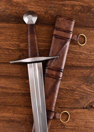 Sabie Medievala cu Teaca Semi Ascutita