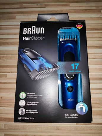 Aparat de tuns electric Braun HC5030,17 setari lungime,Lavabil