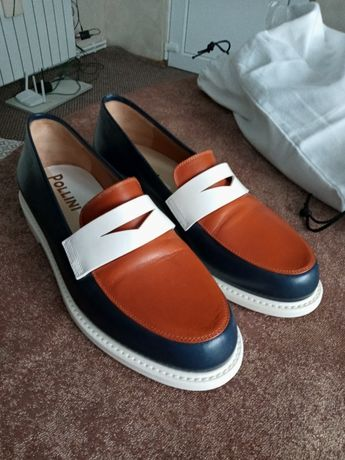 Pantofi Pollini din piele 100% originali