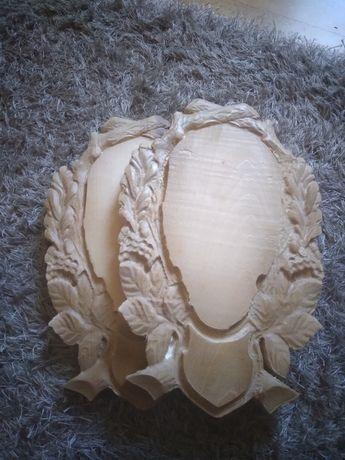 Panoplii Căprior lemn masiv trofeu mistreț