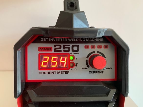 PROFESSIONAL ММА-250Ампера Инверторен електрожен - Електрожени