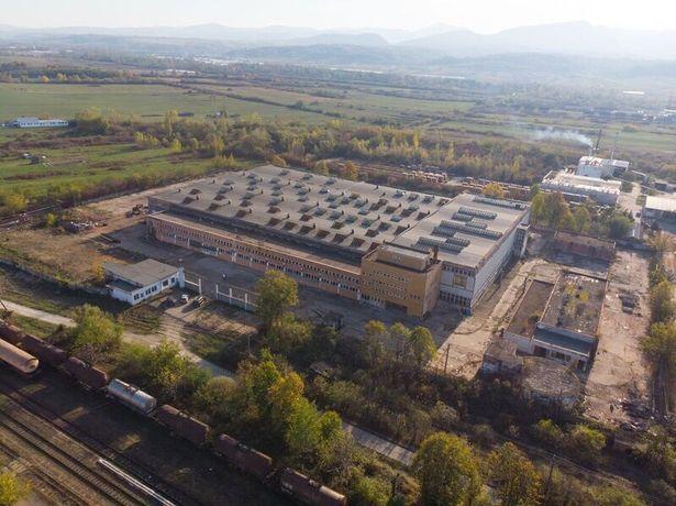 Vand hala  industriala ,fabrica sau inchirire 1 eur/m2