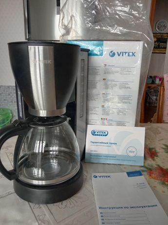 Кофеварка VITEK новая