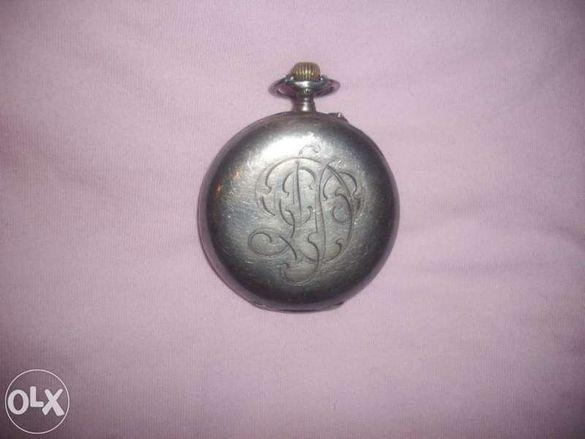 Сребърен джобен часовник L. Leroy&Co и ръчен часовник бреге.
