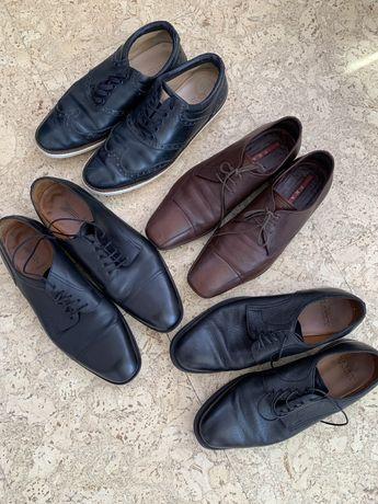 Мужские туфли 41 размера