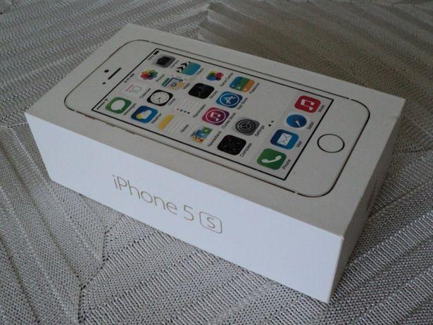 Cutie de telefon mobil I PHONE 5S originala, completa, impecabila