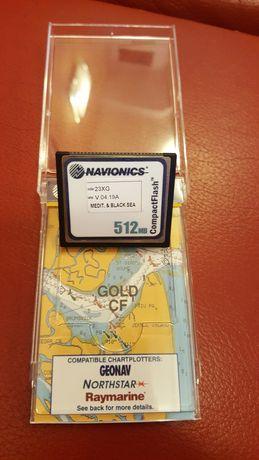 GPS карта за морско плаване