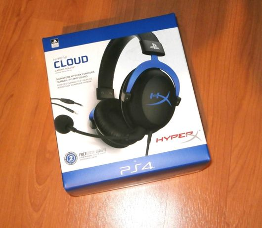 Casti gaming HyperX Cloud Pro Gaming Headset pentru PlayStation 4 noi