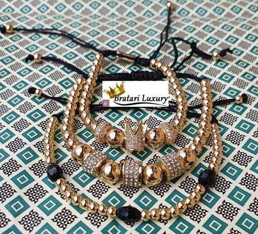 Bratari elegante luxury diferite modele (cu coroana si diamante)