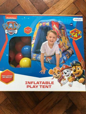 Надуваема кущичка с топчета на Paw patrol inflatable play tent
