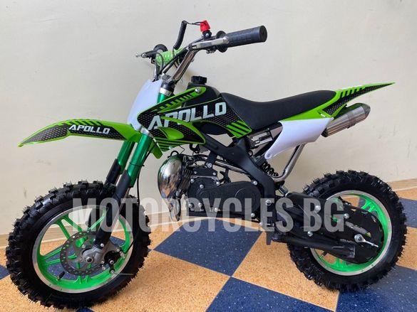 НОВО ! ! ! Детски кросов мотор APOLLO 49 кубика 2021г.