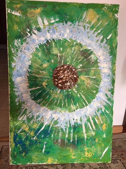 картина Глухарче, 50х70 см Painting: