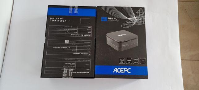 ACEPC AK1 Mini PC,8GB+256GB SSD, 4K SATA SSD/4K/Dual WiFi 2.4G+5G NOU