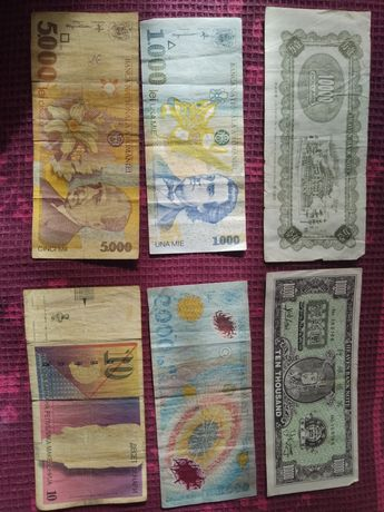 Bani vechi China , Romania și Rusia
