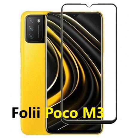 Folie Sticla Husa Xiaomi Poco M3, C3 Poco X3, F1, F2 Pro,F3 Pro M2, X2