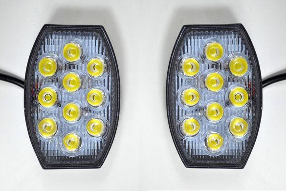 ЛЕД прожектор / работна лампа с 10 Epistar диода, 30W, 2100 лумена.