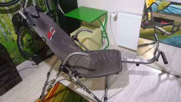 Стол за коремни преси-120лв Нощна лампа китара 250лв Велотренажор Кетл