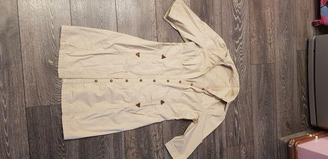 Rochie gen cămașă army