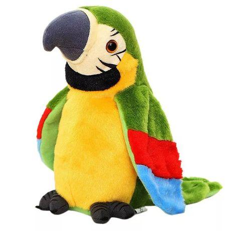 Промо! Плюшен говорещ папагал