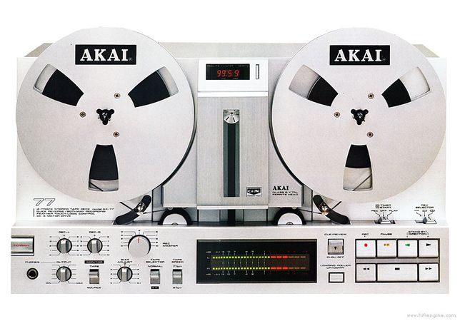 Akai GX 77 Curea Cpestane/Volante