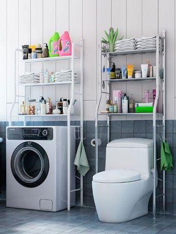 Полка для стиральной машины, для унитаза. стеллаж для ванной.