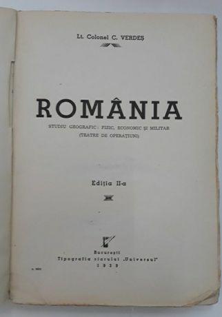 Romania studiu geografic militar