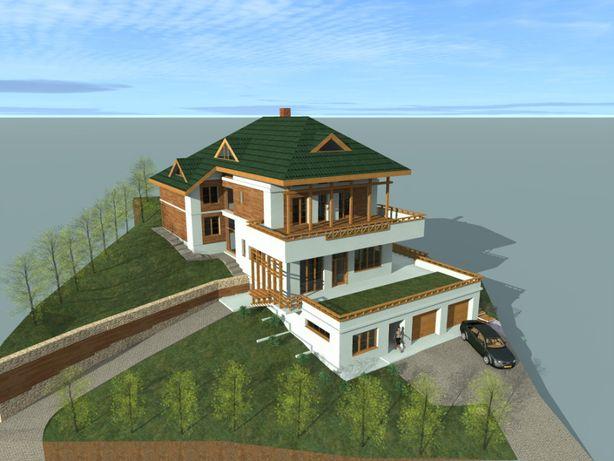 Vând casă în Bucovina (în construcție)