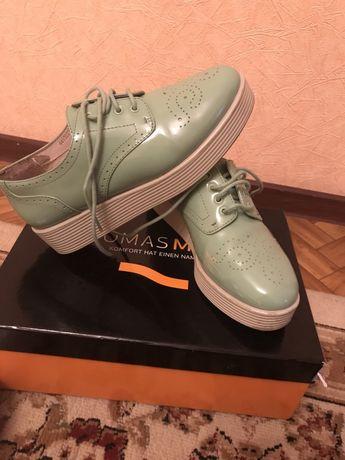 Туфли женские Лоферы новые