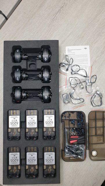 Силовая установка DJI E800 на 6 Моторов (моторы, регуляторы, винты)