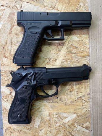2 replici airsoft cm 03 glock si cm126 mosfet