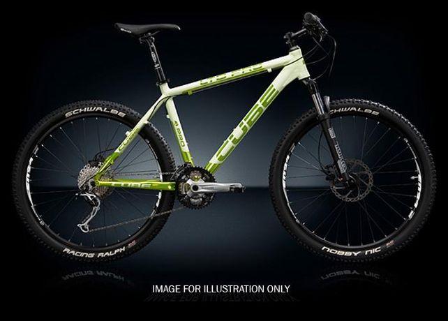"""Bicicleta MTB 26"""" Cube Ltd Pro culoare Milky/Green , 27 viteze"""