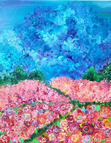 """Картина """"Розовите поля"""""""