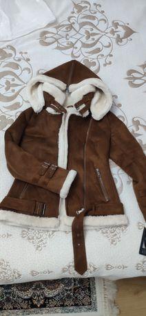 Куртка дубленка размер 40-42